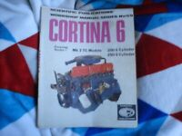 BOOK MOTOR CAR MANUEL WORKSHOP MANUEL CORTINA 6