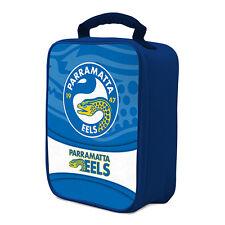 NRL Paramatta Eels COOLER BAG Zip opening insulated Drink School Lunch Box