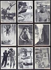 1965 PHILADELPHIA GUM GLIDROSE JAMES BOND 007 B&W MOVIE PARTIAL SET LOT 27/66