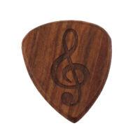 Handmade Acoustic Guitar Pick Heart-shaped Guitar Plectrum Replacement Parts