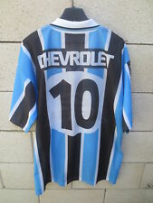 Maillot GREMIO vintage 2000 RONALDINHO n°10 camiseta jersey shirt football L
