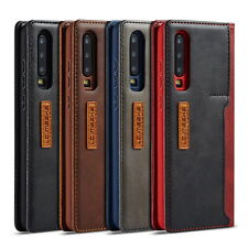 Case For Huawei P30 Pro P20 Mate 20 Leather Flip Wallet Stand Card Phone Cover