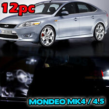 Ford Mondeo MK4 MK4.5 IV INTERIOR LED SMD Bulbs KIT WHITE CANBUS UPGRADE
