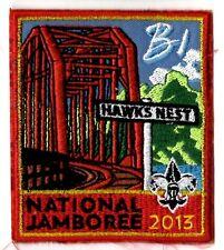 Jamboree Patch 2013 NJ Subcamp   Patch  B1 HAWKS NEST 500000-05