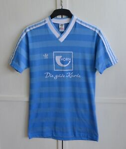 Adidas Vintage 80's made West Germany 1984/1986 Football Shirt Soccer Jersey (L)