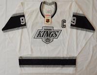 CCM L A KINGS #99 Wayne Gretzky Autographed JERSEY STITCHED ADULT L NEW TAG COA