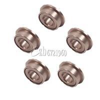 20PCS MF63ZZ Mini Metal Double Shielded Flanged Ball Bearings 3mm*6mm*2.5mm