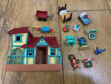 Disney Store Lilo and Stitch mini animator micro house & figure playset RARE