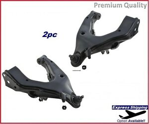 Premium Control Arm SET LH+RH Front Lower For 98-07 Land Cruiser LX470 RK620525