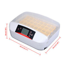 32A Intelligent Egg Incubator/Digital Lcd Display Chickens Ducks Incubator Hatch