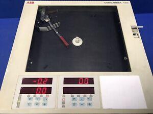 ABB 1912RA001100000STD COMMANDER 1900 CHART RECORDER