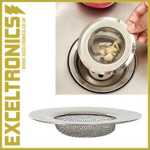 STAINLESS STEEL BATHTUB SINK SHOWER HAIR FOOD CATCHER DRAIN PLUG FILTER STRAINER