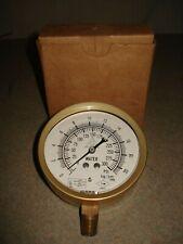 Marsh INSTRUMENT Water Pressure Gauge, C9001 Industrial Fire Protection UL / FM