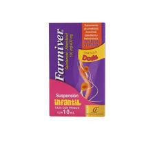 FARMIVER Intestinal Amebiasis Treatment~Anti parasitic~Children 4-6yrs old~NEW