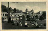Marienbad Mariánské Lázně Tschechien s/w AK 1926 Partie am Neubad Parkanlagen