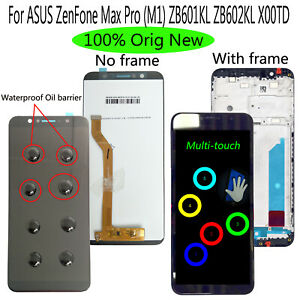 OEM For ASUS ZenFone Max Pro (M1) ZB601KL ZB602KL X00TD LCD Display Touch Screen