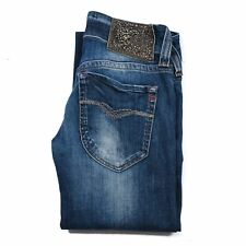 Replay Swenfani Denim Womens Blue Jeans size W25 L32 dark blue zip fly Authentic