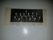 Shaw High School Cleveland Ohio 1907 Football Team Picture VERY RARE!