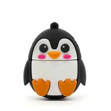 Cute Penguin Animal Shape 16Gb Novelty USB Memory Stick Flash Drive Gift