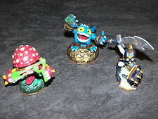 PS3/WII/XBOX360 SKYLANDERS GIANTS LOT 3 FIGURINES ACTIVISION OCCASION