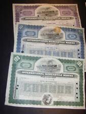 Dealer lot: 87 x International Mercantile Marine, 6 types, 2 vignettes, great !