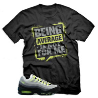 Graphic T Shirt For Nike Air Max 95 Cool Grey Neon Green Black Unisex T-shirt