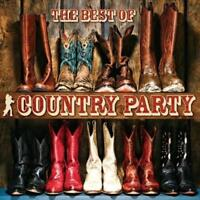 VARIOUS ARTISTS - THE BEST OF COUNTRY PARTY USED - VERY GOOD CD