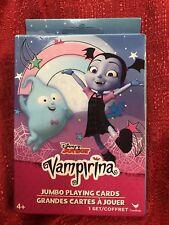 Jumbo Playing Cards Grandes Cartes a Jouer Cardinal Industries Disney Junior Vampirina