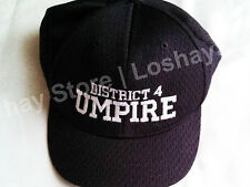 Baseball Umpire Hat District 4 System Five S5 Blue 430 3 Team Coach Sports Gear