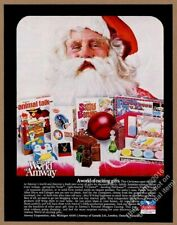 1971 Amway Space Carnival Animal Talk etc game Christmas vintage print ad