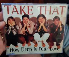 Take That - How Deep is Your Love - MUSIC CD  SINGLE - FREE POST *