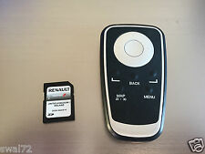 RENAULT CARMINAT TOMTOM SD CARD  2010- 2015 WITH REMOTE EXCELLENT CONDITION