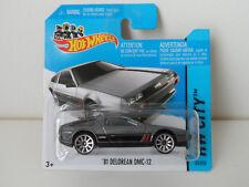 Hot Wheels 2013 ´81 DeLorean DMC-12 Modellauto model car ORIGINAL NEU & OVP