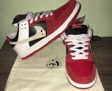 Warren Lotas Custom Jason Vorhees Nike Dunk Low Size 8.5 - In Hand