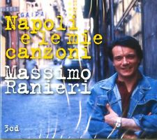 RANIERI MASSIMO - NAPOLI E LE MIE CANZONI -3 CD NUOVO SIGILLATO