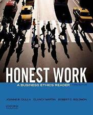 USED (GD) Honest Work: A Business Ethics Reader by Joanne B. Ciulla
