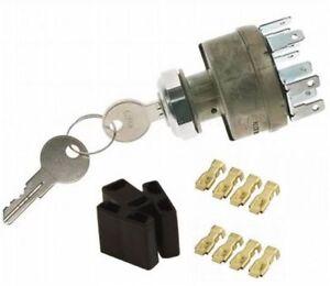 Ignition Switch e Heavy Duty 4 Position Keyed Stainless Bezel kustom