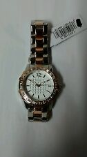 Guess Women's Dazzling Sport Petite Two-Tone Stainless Steel Watch -Brand New