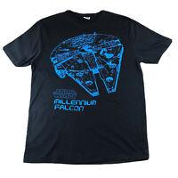 Millenium Falcon Star Wars T Shirt Size M Medium