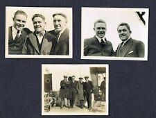 3 WORLD CHAMPION JOHNNY KILBANE original white boader boxing photos boxer