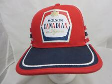 a87b1de8fb7 Molson Canadian beer brewery baseball cap hat adjustable snapback