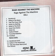 rage against the machine  limited edition 2x cd 2x dvd