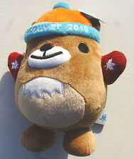 """Vancouver 2010 Olympic 9.5"""" MUK MUK Plush Mascot With Red Mittens -NEW With TAGS"""