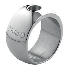 melano Magnetic ANILLO ACERO INOXIDABLE 12mm TALLA56 M 01r001 SS Brillante IMÁN