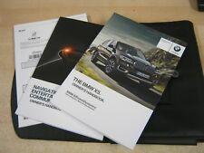 BMW X5  OWNERS HANDBOOK -OWNERS MANUAL 2015-2018 INC SAT NAV refm83