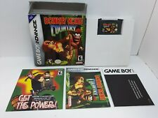 Donkey Kong Country (Nintendo Game Boy Advance, 2003) CIB (Tested Working)