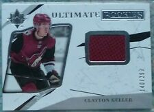 Clayton Keller 2017-18 Ud Ultimate Collection Rookies Jersey Rc /299 Coyotes