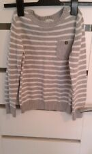 kids.boys jumper,to fit 126cm/8 years,used very good condition,stripy grey