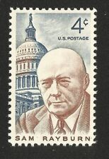 1962 Sam Rayburn 4 cents US Postage Stamp Scott #1202  MINT