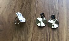 Preowned Ippolita Wavy Ring Size 8 And Earrings